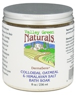 Valley Green Naturals - DermaSens Colloidal Oatmeal & Himalayan Salt Bath Soak - 8 oz.