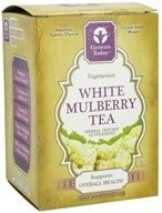 Genesis Today - White Mulberry Tea 1500 mg. - 45 Tea Bags by Genesis Today