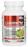 Top Secret Nutrition - L-Carnitine Plus Garcinia Camogia Extract - 60 Vegetarian Capsules (855659004585)