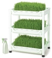 TriBest - Sproutman's SM Deluxe Soil-Free Wheatgrass Grower SM-350 by TriBest