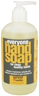 EO Products - Everyone Liquid Hand Soap Apricot + Vanilla - 12.75 oz.