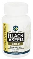 Image of Amazing Herbs - Black Seed Gold - 60 Capsules