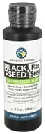 Image of Amazing Herbs - Black Seed & Flax Cold-Pressed Oil Blend - 8 oz.