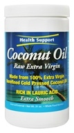 Health Support - Coconut Oil Raw Extra Virgin - 31 oz. by Health Support