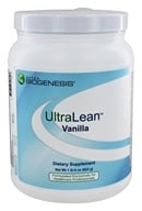 BioGenesis Nutraceuticals - UltraLean Body Composition Formula Vanilla - 1.4 lbs., from category: Professional Supplements