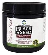 Amazing Herbs - Black Seed Gourmet Whole Seed - 16 oz. - $8.99