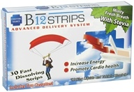 Essential Source - B12 Strips Advanced Delivery System Minty Fresh Breath 1000 mcg. - 30 Strip(s) by Essential Source