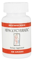 Bezwecken - Hepaglycyrrhizic - 58 Grams, from category: Professional Supplements