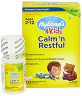 Image of Hylands - 4Kids Calm 'n Restful - 125 Tablets