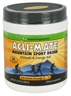 Acli-Mate - Mountain Sport Drink Elevation Orange - 13.8 oz.