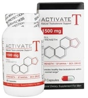 Fusion Diet Systems - Activate T Natural Testosterone Support 1500 mg. - 60 Capsules - $21.99