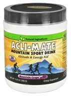 Acli-Mate - Mountain Sport Drink Mountain Grape - 13.8 oz., from category: Sports Nutrition