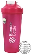 Blender Bottle - Classic Full-Color Pink - 28 oz. By Sundesa