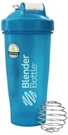 Blender Bottle - Classic Full-Color Aqua - 28 oz. By Sundesa