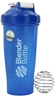 Blender Bottle - Classic Full-Color Blue - 28 oz. By Sundesa