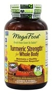 MegaFood - Turmeric Strength for Whole Body - 90 Tablets