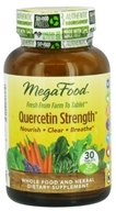 MegaFood - Quercetin Strength - 30 Tablets