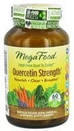 MegaFood - Quercetin Strength - 60 Tablets, from category: Nutritional Supplements