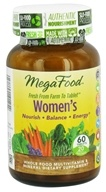 MegaFood - Women's Multivitamin - 60 Tablets, from category: Vitamins & Minerals