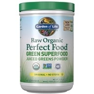 Garden of Life - Perfect Food Raw Organic Green Super Food Original - 14.8 oz.