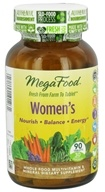 Image of MegaFood - Women's Multivitamin - 90 Tablets