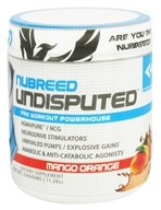 Nubreed Nutrition - Undisputed Pre Workout Powerhouse Mango Orange - 11.28 oz. by Nubreed Nutrition