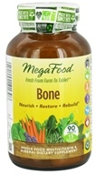 MegaFood - Bone Multivitamin - 90 Tablets