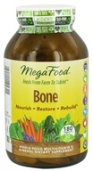 MegaFood - Bone Multivitamin - 180 Tablets, from category: Nutritional Supplements