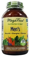 MegaFood - Men's Multivitamin - 180 Tablets
