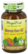 Image of MegaFood - Women Over 40 Multivitamin - 90 Tablets