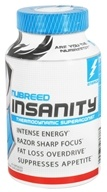 Nubreed Nutrition - Insanity Thermodynamic Superagonist - 45 Capsules - $31.99