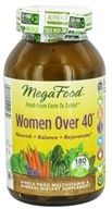 Image of MegaFood - Women Over 40 Multivitamin - 180 Tablets