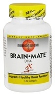 Mushroom Wisdom - Brain Mate DHA with SX Fraction - 120 Softgels (791014309059)