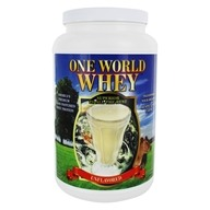 One World Whey - Premium Grass Pastured Whey Protein Unflavored - 5 lbs.