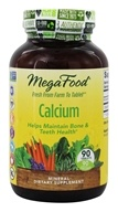 MegaFood - Calcium - 90 Tablets
