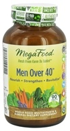 Image of MegaFood - Men Over 40 Multivitamin - 90 Tablets