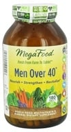 MegaFood - Men Over 40 Multivitamin - 180 Tablets, from category: Vitamins & Minerals