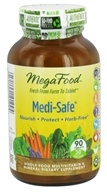MegaFood - Medi-Safe Multivitamin - 90 Tablets