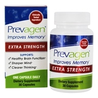 Quincy Bioscience - Prevagen Extra Strength Memory Support - 30 Vegetarian Capsules