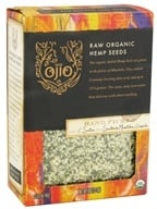 Ojio - Hemp Seeds Raw Organic - 8 oz. (845772004449)