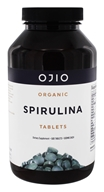 Ojio - Spirulina Tablets Raw Organic 500 mg. - 8.8 oz.