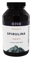 Ojio - Spirulina Tablets Raw Organic 500 mg. - 8.8 oz. by Ojio
