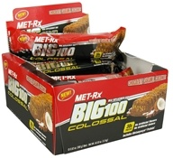 MET-Rx - Big 100 Colossal Meal Replacement Bar Chocolate Caramel Coconut - 3.52 oz. by MET-Rx