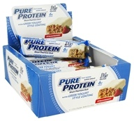 Pure Protein - High Protein Bar with Greek Yogurt Style Coating Strawberry - 2.75 oz.