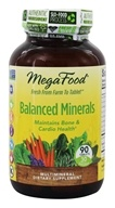 MegaFood - Balanced Minerals - 90 Tablets, from category: Vitamins & Minerals