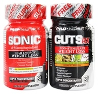 Pro Nutra - Sonic & Cuts RX Shrink Pack - $47.99