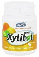Epic Dental - Xylitol Sweetened Mints Fresh Fruit - 180 Mint(s)