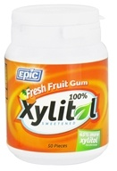 Epic Dental - Xylitol Sweetened Gum Fresh Fruit - 50 Piece(s)