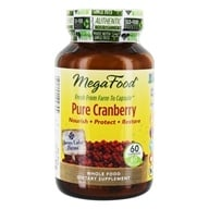Image of MegaFood - Pure Cranberry 500 mg. - 60 Capsules