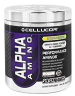 Cellucor - Alpha Amino Performance Aminos Lemon Lime 30 Servings - 366 Grams (810390021420)